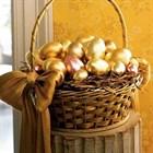 Как украсить пасхальную корзинку