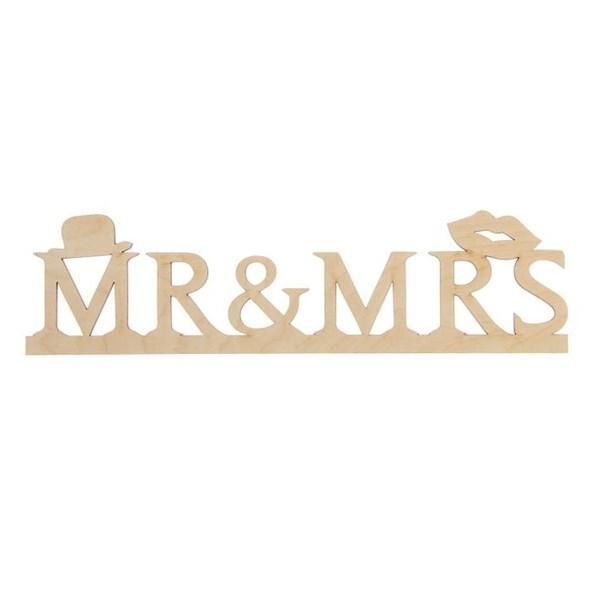 """Табличка деревянная """"Mr&Ms"""" - фото 12153"""