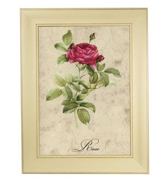 """Картина в раме """"Алая роза"""" - фото 20706"""