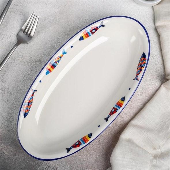 "Блюдо ""Морское"" 28х15 см - фото 27502"