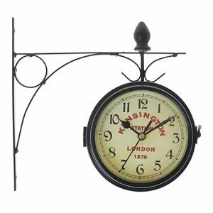 """Часы настенные """"Станция Кенсингтон"""" двухсторонние диаметр 16 см"""