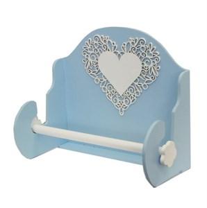 Держатель для полотенец голубой