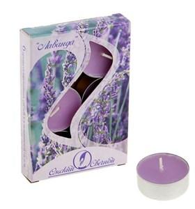 """Набор """"Лаванда"""" из шести ароматизированных свечей"""