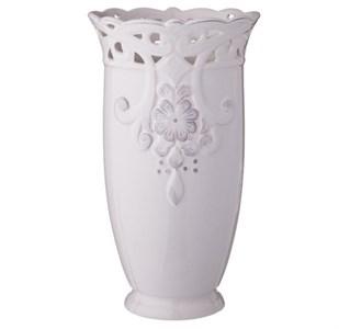 """Ваза керамическая """"Кружевной цветок"""" высота 27 см"""