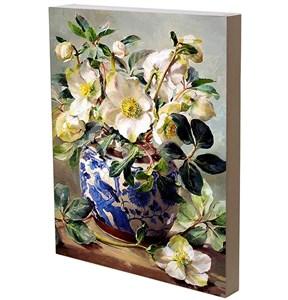 """Панно """"Цветы в вазе"""" 29х42 см"""