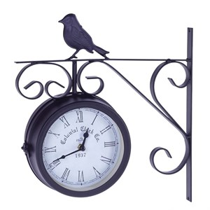"Часы настенные двусторонние ""Птица"""