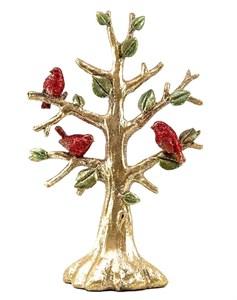 """Статуэтка """"Дерево с птицами"""" состаренная высота 35 см"""