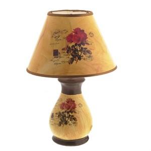 """Лампа настольная """"Розы"""" 36 см"""