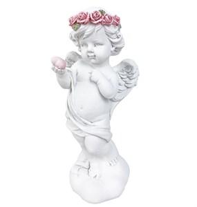 """Статуэтка """"Ангел с сердцем"""" 18 см"""