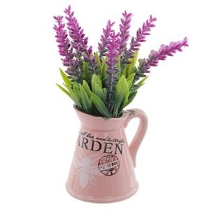Цветок искусственный в кувшине, цена за штуку
