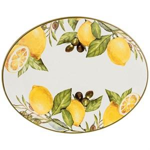 """Блюдо """"Лимоны"""" 31х25 см"""