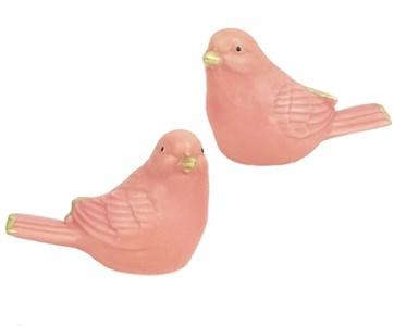 """Статуэтка """"Птичка"""" розовая, цена штуку"""