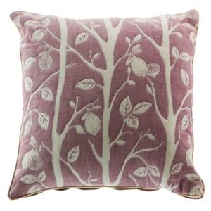 Подушка декоративная розовая 43х43 см
