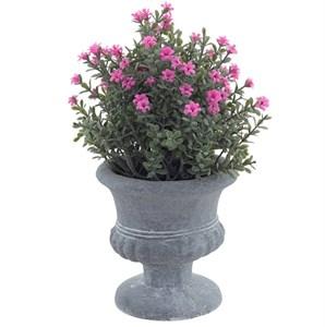 Цветы искусственные в вазоне