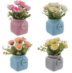 Цветы искусственные, цена за штуку