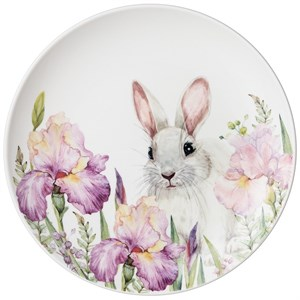 "Тарелка ""Кролики в ирисах"" 20 см"
