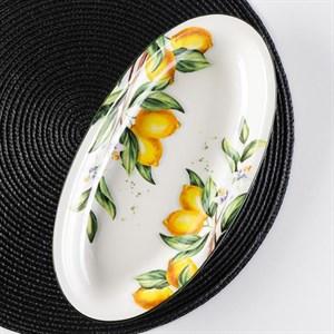 """Блюдо """"Лимоны"""" 28х14 см"""