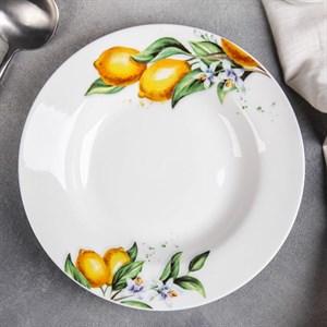"Тарелка глубокая ""Лимоны"" 20 см"