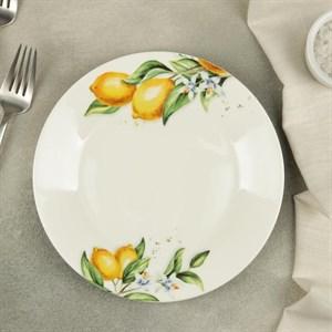 "Тарелка ""Лимоны"" 19 см"