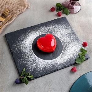 Доска для подачи из камня 25х20 см