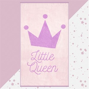 """Полотенце махровое """"Маленькая принцесса"""" 70х130 см"""