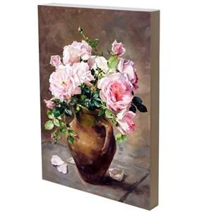 """Панно """"Розы в кувшине"""" 29х42 см"""