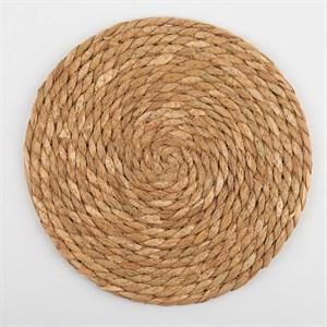 Салфетка сервировочная плетеная 25 см