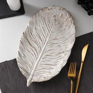 Блюдо деревянное 30х18 см