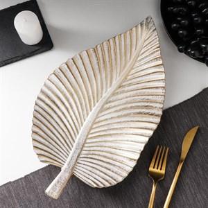 Блюдо деревянное 35х20 см