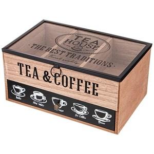 Шкатулка для чайных пакетиков и капсул для кофе